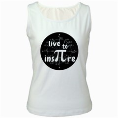Pi Day Women s White Tank Top by Valentinaart