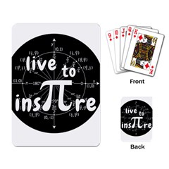 Pi Day Playing Card by Valentinaart