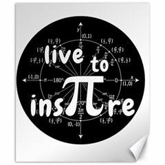 Pi Day Canvas 8  X 10  by Valentinaart