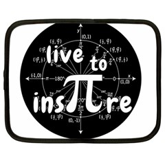 Pi Day Netbook Case (large) by Valentinaart