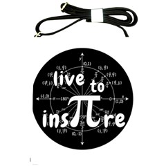 Pi Day Shoulder Sling Bags by Valentinaart