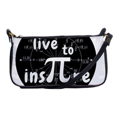 Pi Day Shoulder Clutch Bags by Valentinaart