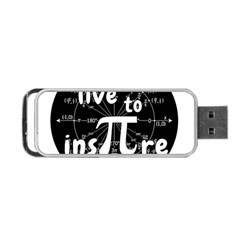 Pi Day Portable Usb Flash (two Sides) by Valentinaart