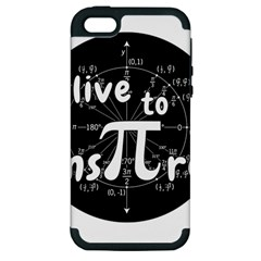 Pi Day Apple Iphone 5 Hardshell Case (pc+silicone) by Valentinaart