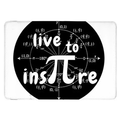 Pi Day Samsung Galaxy Tab 8 9  P7300 Flip Case by Valentinaart