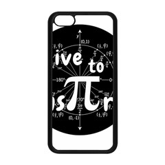 Pi Day Apple Iphone 5c Seamless Case (black) by Valentinaart