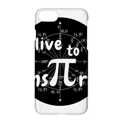Pi Day Apple Iphone 7 Hardshell Case by Valentinaart