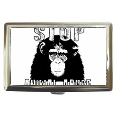 Stop Animal Abuse - Chimpanzee  Cigarette Money Cases