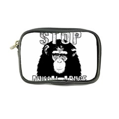 Stop Animal Abuse - Chimpanzee  Coin Purse