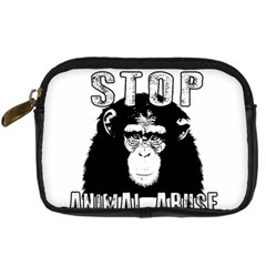 Stop Animal Abuse - Chimpanzee  Digital Camera Cases