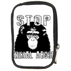 Stop Animal Abuse - Chimpanzee  Compact Camera Cases