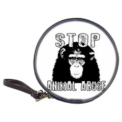 Stop Animal Abuse - Chimpanzee  Classic 20-CD Wallets