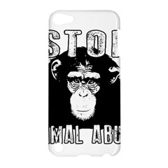 Stop Animal Abuse - Chimpanzee  Apple iPod Touch 5 Hardshell Case