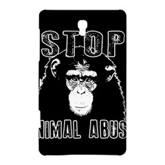 Stop Animal Abuse   Chimpanzee  Samsung Galaxy Tab S (8 4 ) Hardshell Case  by Valentinaart