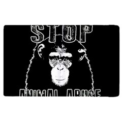 Stop Animal Abuse   Chimpanzee  Apple Ipad Pro 12 9   Flip Case by Valentinaart