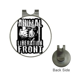 Animal Liberation Front   Chimpanzee  Hat Clips With Golf Markers by Valentinaart