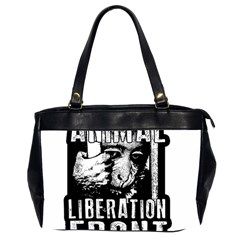 Animal Liberation Front   Chimpanzee  Office Handbags (2 Sides)  by Valentinaart