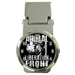 Animal Liberation Front   Chimpanzee  Money Clip Watches by Valentinaart