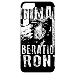 Animal Liberation Front   Chimpanzee  Apple Iphone 5 Classic Hardshell Case by Valentinaart