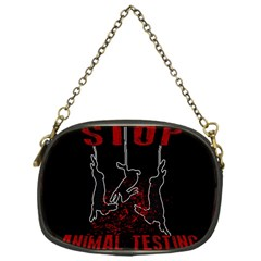Stop Animal Testing   Rabbits  Chain Purses (one Side)  by Valentinaart