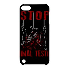 Stop Animal Testing   Rabbits  Apple Ipod Touch 5 Hardshell Case With Stand by Valentinaart