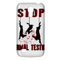 Stop Animal Testing   Rabbits  Galaxy S4 Mini by Valentinaart