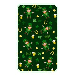 St Patricks Day Pattern Memory Card Reader by Valentinaart