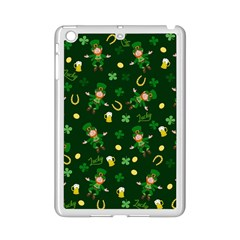 St Patricks Day Pattern Ipad Mini 2 Enamel Coated Cases by Valentinaart