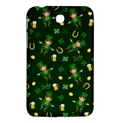 St Patricks Day Pattern Samsung Galaxy Tab 3 (7 ) P3200 Hardshell Case  by Valentinaart