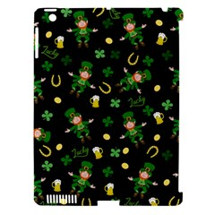 St Patricks Day Pattern Apple Ipad 3/4 Hardshell Case (compatible With Smart Cover) by Valentinaart