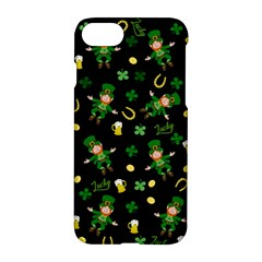 St Patricks Day Pattern Apple Iphone 8 Hardshell Case by Valentinaart