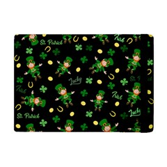 St Patricks Day Pattern Apple Ipad Mini Flip Case by Valentinaart