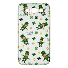 St Patricks Day Pattern Samsung Galaxy Mega 5 8 I9152 Hardshell Case  by Valentinaart