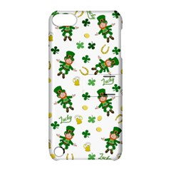 St Patricks Day Pattern Apple Ipod Touch 5 Hardshell Case With Stand by Valentinaart