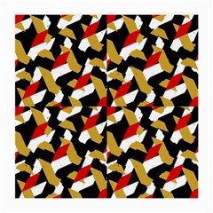 Colorful Abstract Pattern Medium Glasses Cloth by dflcprints