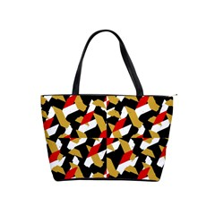 Colorful Abstract Pattern Shoulder Handbags by dflcprints