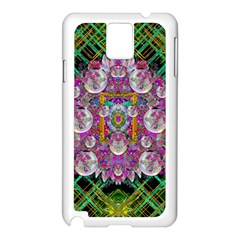 The Most Beautiful Planet Is Earth On The Sky Samsung Galaxy Note 3 N9005 Case (white) by pepitasart