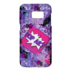 Purlpe Retro Pop Samsung Galaxy S7 Hardshell Case