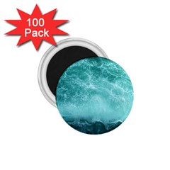 Green Ocean Splash 1 75  Magnets (100 Pack)