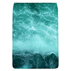 Green Ocean Splash Flap Covers (s)  by snowwhitegirl