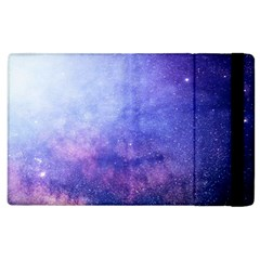 Galaxy Apple Ipad 2 Flip Case by snowwhitegirl