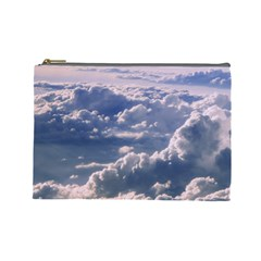 In The Clouds Cosmetic Bag (large)  by snowwhitegirl