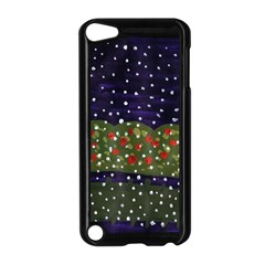 Snowy Roses Apple Ipod Touch 5 Case (black) by snowwhitegirl