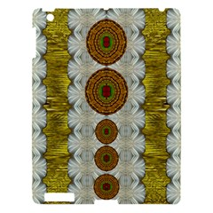 Spring In Mind And Flowers In Soul Be Happy Apple Ipad 3/4 Hardshell Case by pepitasart