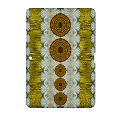 Spring In Mind And Flowers In Soul Be Happy Samsung Galaxy Tab 2 (10 1 ) P5100 Hardshell Case  by pepitasart