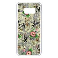 Angel Floral Samsung Galaxy S8 Plus White Seamless Case