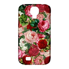 Rose Bushes Samsung Galaxy S4 Classic Hardshell Case (pc+silicone) by snowwhitegirl