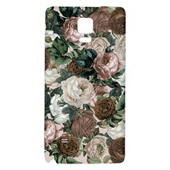 Rose Bushes Brown Galaxy Note 4 Back Case by snowwhitegirl