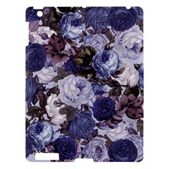 Rose Bushes Blue Apple Ipad 3/4 Hardshell Case by snowwhitegirl
