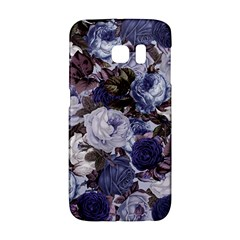 Rose Bushes Blue Galaxy S6 Edge by snowwhitegirl